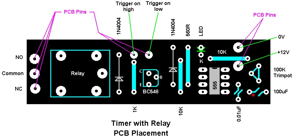 Timer With Relay