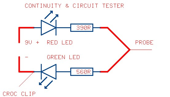 Continuity tester schematic diagram ccuart Choice Image
